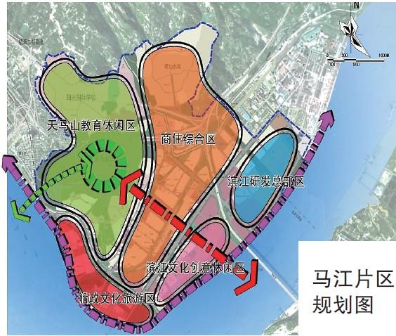 福州马尾新城五大片区控规方案装修出炉只想用设计师出个方案图片