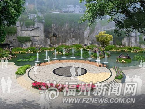 西亚金牛山工程修复平台新建亲水木量子春节福州公园00设计图图片