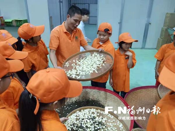 """长乐黄石""""姐妹乡伴""""团队成立学堂传播市花文化"""