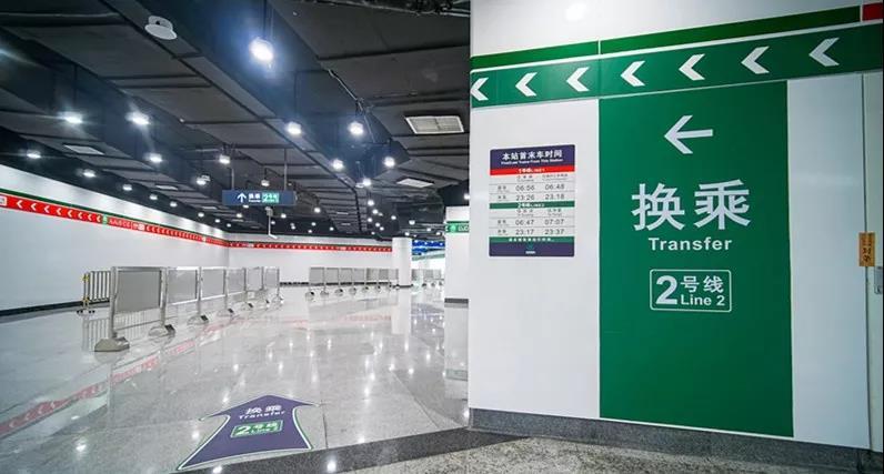 福州地铁2号线购票、列车时刻表、快速出站指南来了!